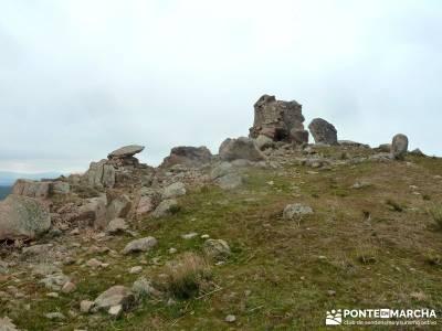 Fortines y Trincheras: Río Cofio; crampones la panera nordic walking laguna negra